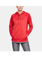 UNDER ARMOUR UNDER ARMOUR WOMEN'S DOUBLE THREAT HOODIE MD RED