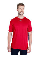 UNDER ARMOUR UNDER ARMOUR MEN'S LOCKER TEE 2.0 RED
