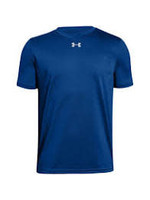 UNDER ARMOUR UNDER ARMOUR MEN'S LOCKER TEE 2.0 BLUE