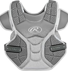 RAWLINGS RAWLINGS INTERMEDIATE SOFTBALL CHEST PROTECTOR GREY