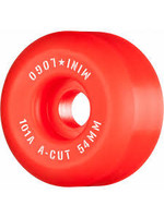 MINI LOGO 55MM X 101A C-CUT RED 4PK