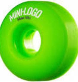 MINI LOGO 54MM X 101A GREEN WHEEL C-CUT 4PK