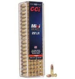 CCI CCI 22LR 40 GR CP RN MINI MAG TARGET 1235FPS