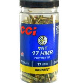 CCI CCI 17HMR PT 17GR  VARMINT 250 RDS