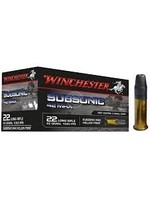 WINCHESTER WINCHESTER 22LR SUBSONIC 42 MAX 42GR HP