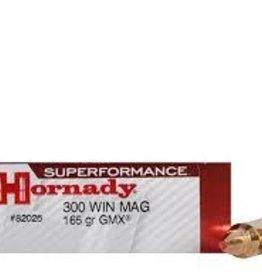 HORNADY HORNADY 300 WIN MAG 165 GRAIN GMX SUPERFORMANCE