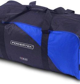 """POWERTEK HOCKEY POWERTEK V3.0 BASIC HOCKEY BAG 35"""" X 15"""" X 14"""" BLUE"""