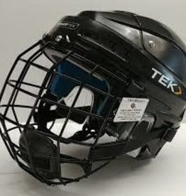 POWERTEK HOCKEY POWERTEK V3.0 HOCKEY HEMET WITH CAGE SR