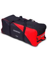 """POWERTEK HOCKEY POWERTEK V3.0 BASIC WHEEL HOCKEY BAG 30 X 14 X 13"""" RED"""