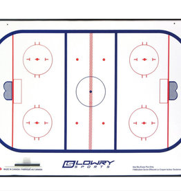 "LOWRYS HOCKEY COACH BOARD 16"" X 24"""