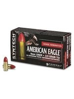 FEDERAL FEDERAL 9MM LUGER 115 GR TSJ SYNTHETIC AMERICAN EAGLE
