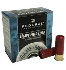 "FEDERAL FEDERAL 20 GA 2 1/2"" 6 SHOT GAME & TARGET LOAD"