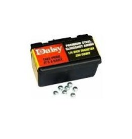 "daisy DAISY 1/4"" STEEL SLINGSHOT AMMO 250COUNT"