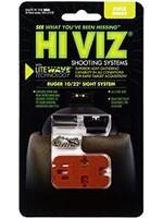 HI VIZ HI VIZ RUGER 10/22 RIFLE SIGHT SYSTEM
