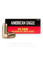 FEDERAL FEDERAL AMER EAGLE 40 S&W 180GR FMJ