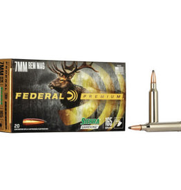 FEDERAL FEDERAL AMMO 7MM 165GR. SIERRA GAMEKING P7RE