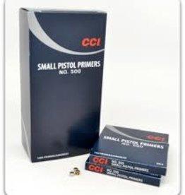 CCI CCI SMALL PISTOL PRIMERS #500 (BRICK)