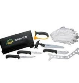 Outdoor Edge OUTDOOR EDGE BUTCHER LITE EIGHT PIECE FIELD KIT