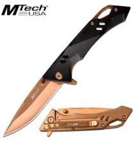 """MTECH MTECH 7.75"""" FOLDING KNIFE BRONZE BLADE"""