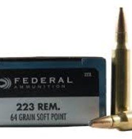 FEDERAL FEDERAL 223 REM 64GR SP POWER SHOK