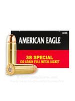 FEDERAL FEDERAL 38 SPL 130 GR FMJ AMERICAN EAGLE