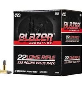 CCI CCI BLAZER 22 LR  38 GR LRN 525 ROUND VALUE PACK