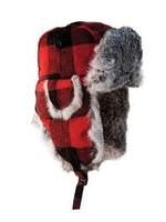 Eskimo ESKIMO PLAID ALASKAN FUR HAT