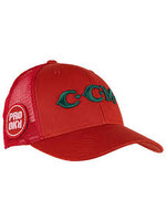 CCM Hockey CCM CAP VINTAGE MESH BACK TRUCKER RED