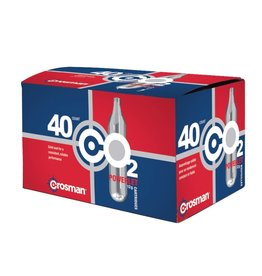CROSMAN CROSMAN POWERLET CO2 12G CARTRIDGES 40CT