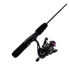 "UGLY STICK ICE FISHING COMBO LADIES 26"" GX2"