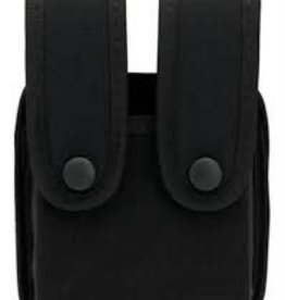 UNCLE MIKE'S UNCLE MIKE DOUBLE PISTOL MAG CASE SINGLE ROW MAGS 8837-1
