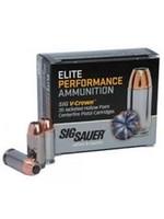 Sig Sauer  Ammo 45 ACP, JHP, 230 Gr, 830 fps E45AP2-20 V-Crown Pistol