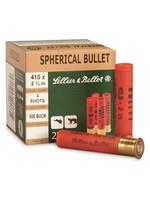 "SELLIER & BELLOT SELLIER & BELLOT .410 GA 2 1/2 "" 4 SHOT"