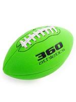 "360 ATHLETICS 360 FOOTBALL SOFT-GRIP 8.5"" NEON GREEN"