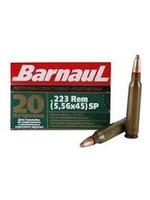 BARNAUL BARNAUL AMMO .223 (5.56X45) SP 55GR