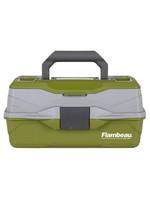 Flambeau FLAMBEAU 1 TRAY CLASSIC BOX 6381TB GREEN