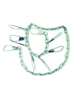 """Eagle Claw EAGLE CLAW Coated Chain Stringer 46"""" Eagle Claw ASTVCH-9 9Snap Deluxe"""