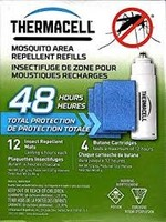 THERMACELL THERMACELL MOSQUITO AREA REPELLENT REFILLS 48 HRS 12MATS