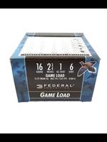FEDERAL FEDERAL 16 GA 2 3/4 6 SHOT GAME LOAD H1606
