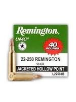 REMINGTON REMINGTON 22-250 REM 50 GR JHP