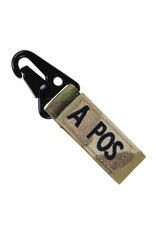 Condor Outdoor Blood Type Key Chain