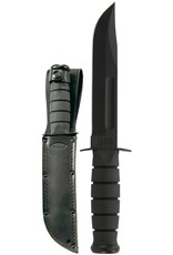 KA-BAR Full Size Black KA-BAR, Straight Edge