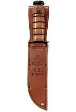 KA-BAR Full-size Brown Leather US ARMY Sheath