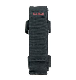 KA-BAR Black Polyester Sheath for Folders (Red Stitch)