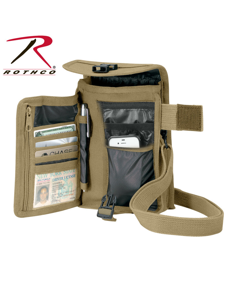 Rothco Canvas Travel Portfolio Bag