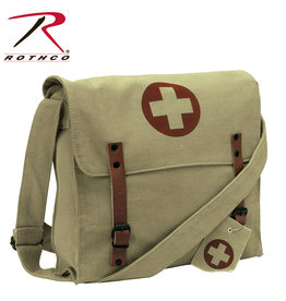 Rothco Vintage Medic Canvas Bag With Cross