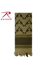 Rothco Crossed Rifles Shemagh Scarf