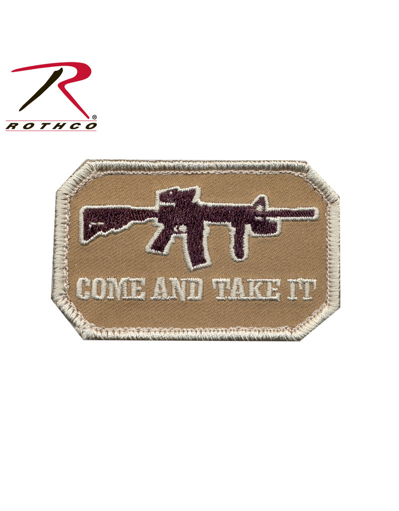 Rothco Come and Take It Morale Patch