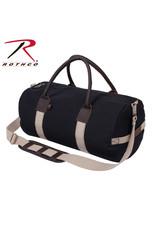 Rothco Canvas & Leather Gym Duffle Bag