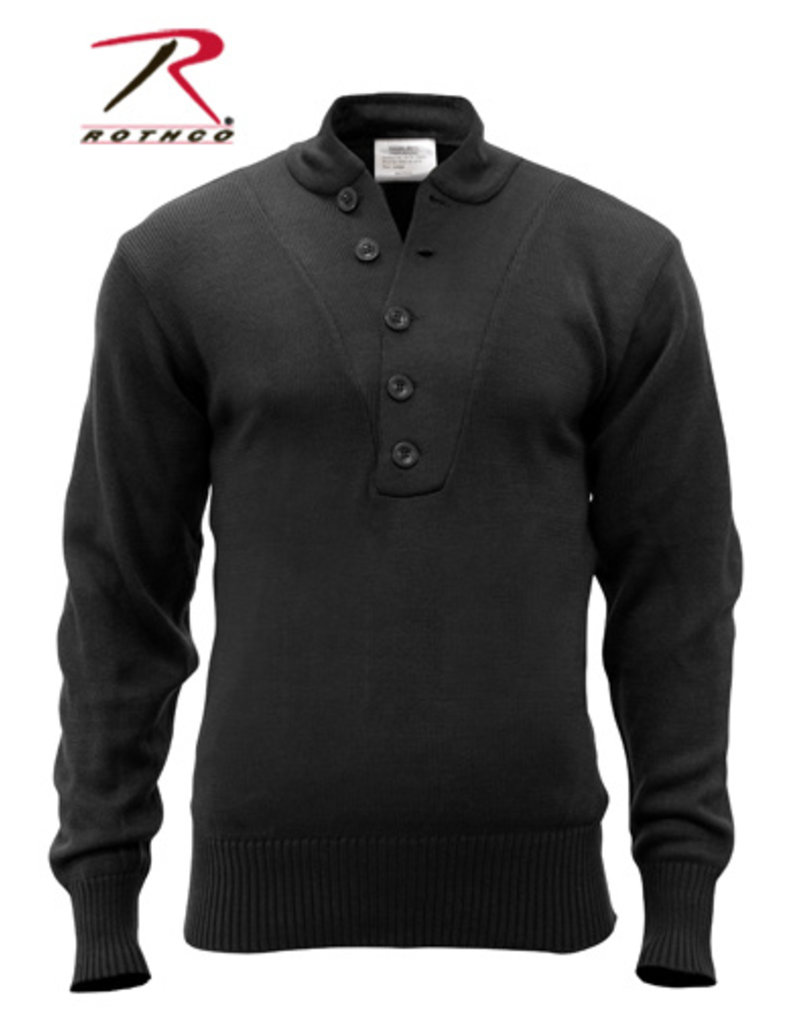 Rothco 5-Button Acrylic Sweater